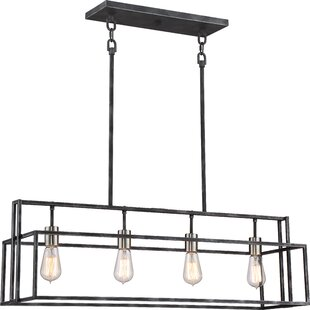 Black Pendant Lights Youll Love Wayfair - Black iron kitchen light fixtures