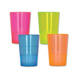 neon shot glasses set of 32