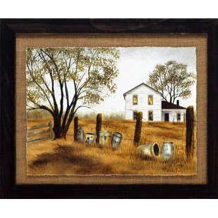 U0027Old Crocks Primitive Country Farm Landscapeu0027 By Billy Jacobs Framed  Photographic Print