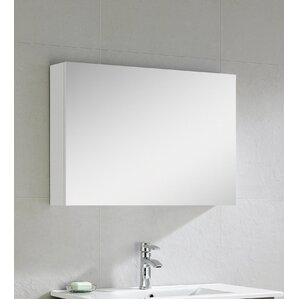Bathroom Mirror Cabinet With Lights top lighting medicine cabinets you'll love | wayfair