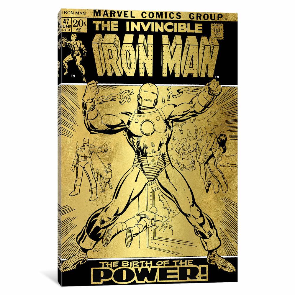 iCanvas \'Marvel Comics Retro The Invincible\' by Marvel Comics ...