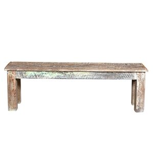 Desirae Wood Bench by Bloomsbury Market