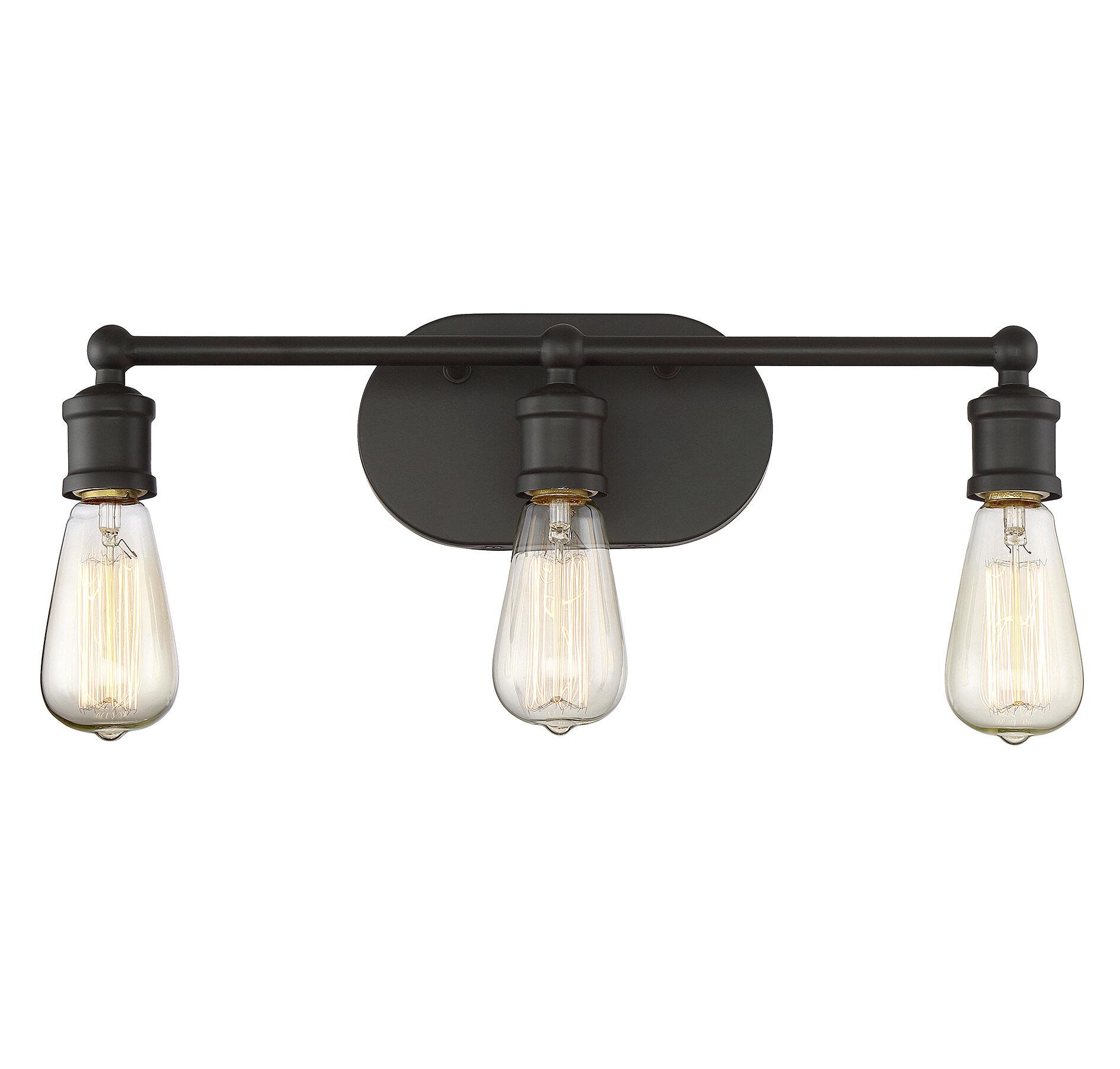 Laurel Foundry Modern Farmhouse Agave 3-Light Vanity Light Fixture ...