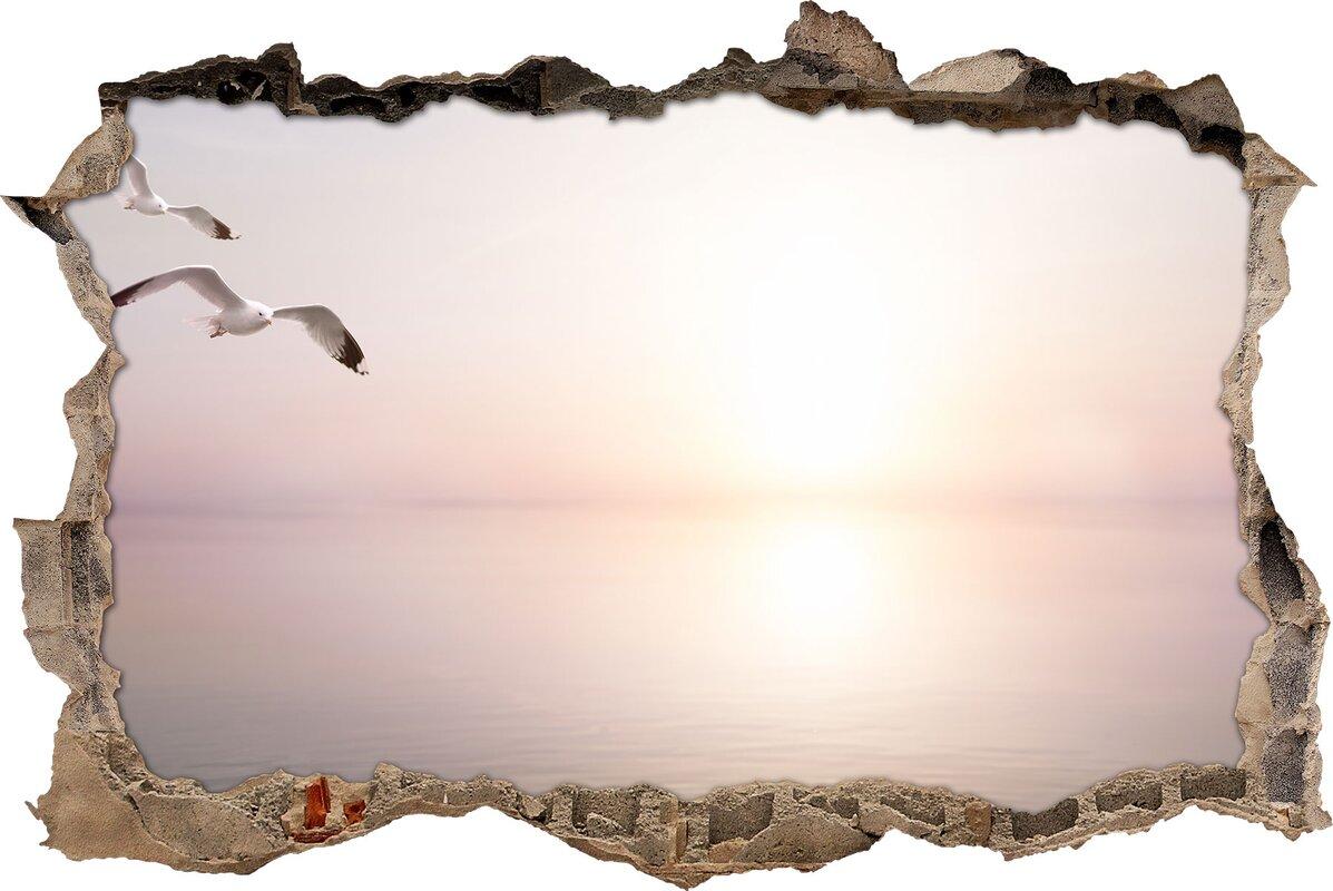Bezaubernd Schöne Wandtattoos Referenz Von Wandtattoo Schöne Möwen über Dem Meer
