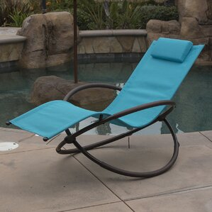 Orbital Chaise Lounge With Cushion