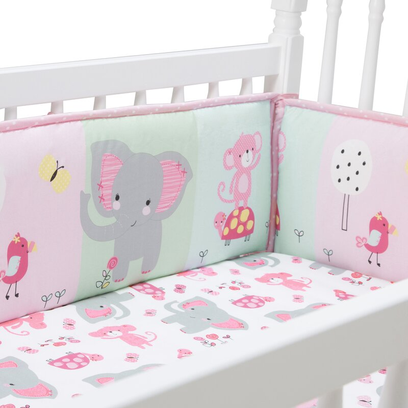 Lambs Ivy Signature Twinkle Toes Bedtime Originals Jungle Elephant