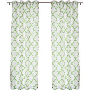 Geometric Curtains + Drapes