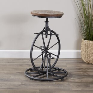 Bryana Adjustable Height Swivel Bar Stool Looking for