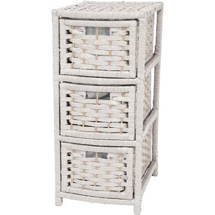 Delicieux White Wicker Storage Chest | Wayfair