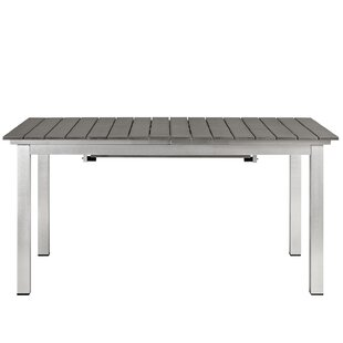 Modern Outdoor Dining Tables AllModern - White metal outdoor dining table