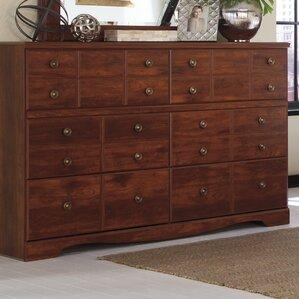 Attayac 6 Drawer Standard Dresser by Loon Peak