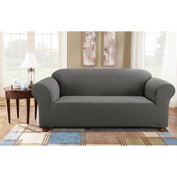 Sure Fit Simple Stretch Subway Sofa Slipcover Reviews Wayfairca