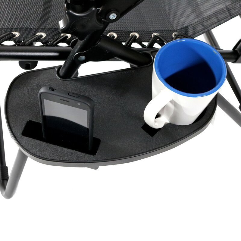 Marvelous Harmond Universal Oval Zero Gravity Chair Cup Holder With Mobile Device  Slot And Snack Tray