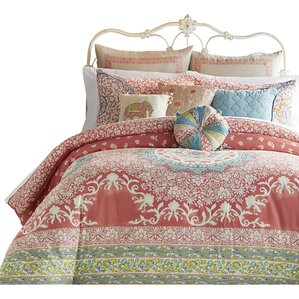 amrita medallion 400 thread count 100 cotton comforter set