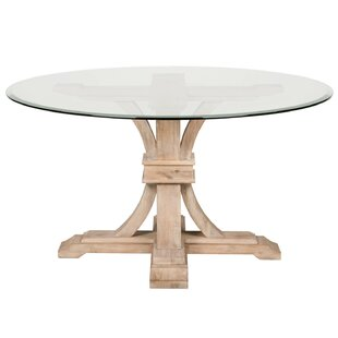 Inch Round Dining Table Wayfair - 52 inch round glass dining table