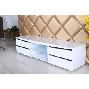 Tannen High Gloss Tv Stand For Tvs Up To 75
