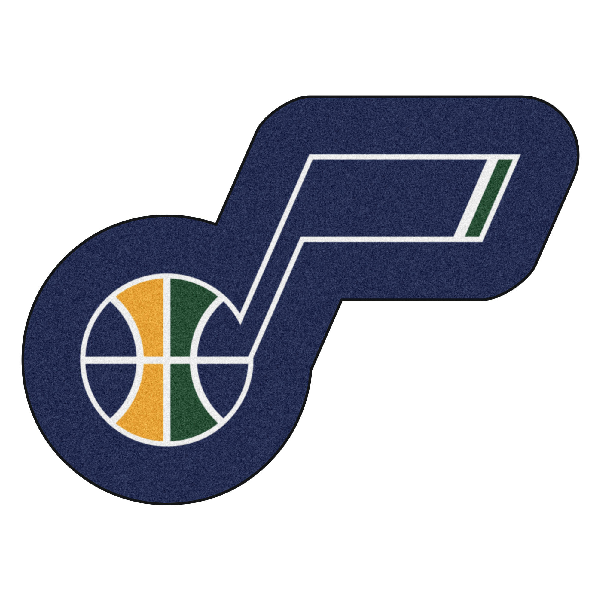3434e4a4cef2 FANMATS NBA Utah Jazz Mascot Doormat