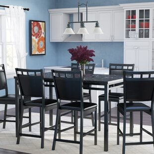 Pickerington 7 Piece Counter Height Dining Table Set