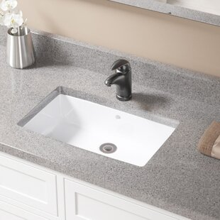 Undermount sinks you 39 ll love wayfair - How to install an undermount bathroom sink ...
