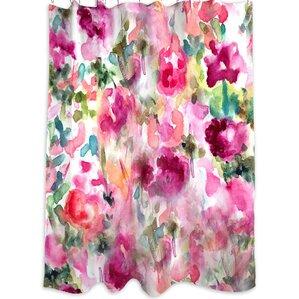 Oliver Gal Home In Wonderland Shower Curtain