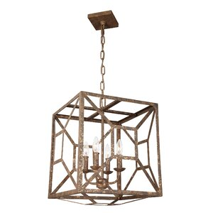 Jayanth 4-Light Candle-Style Chandelier