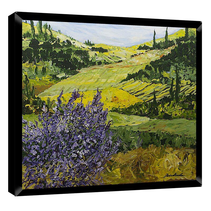 PTM Images Tranquil Landscape Framed Painting Print & Reviews | Wayfair
