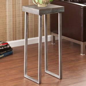 Wildon Home ? Newberry Pedestal End Table Image