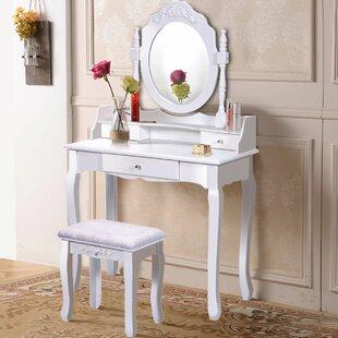 Small White Vanity Desk Wayfair