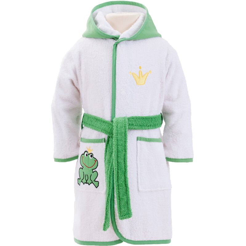 Smithy Frog King Children\'s Dressing Gown | Wayfair.co.uk