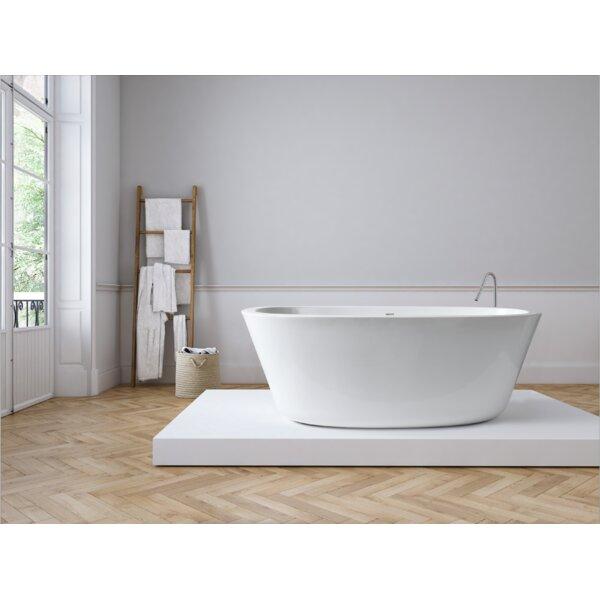 Small Freestanding Soaker Tub | Wayfair