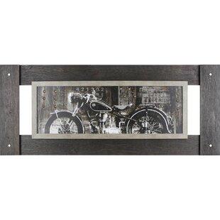 Vintage Motorcycle Graphic Art