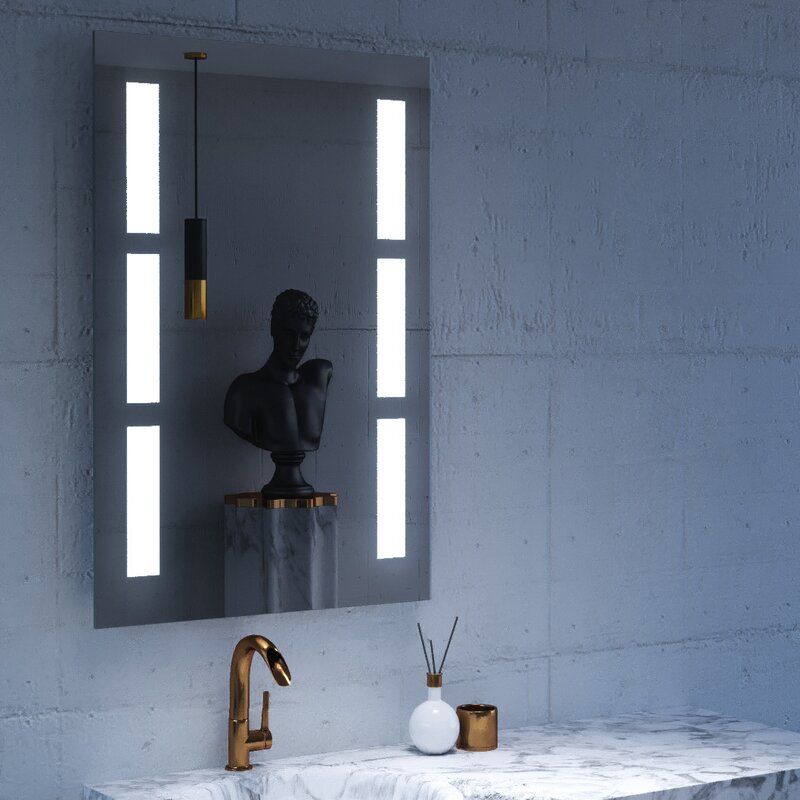 100 lighted mirror wall bathroom inspiring unique vanity mi