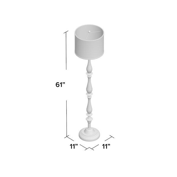 Andover Mills Everett 61 Quot Floor Lamp Amp Reviews Wayfair