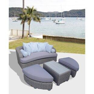 Gaia Tuscan Sofa Set With Cushions