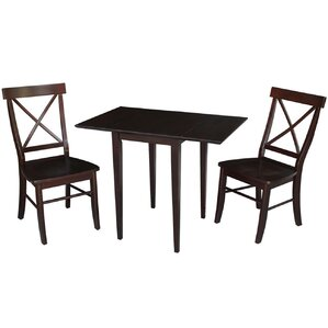 Brookfield 3 Piece Dining Set by Andover Mills