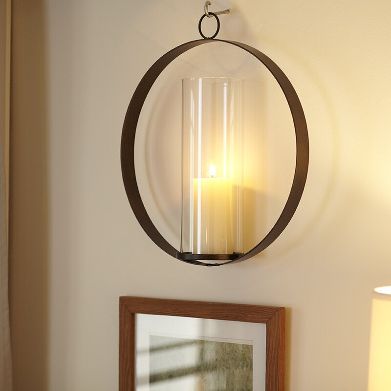 Genial Hanging Candle Sconce