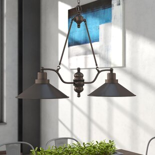 Schaff 2 Light Kitchen Island Pendant