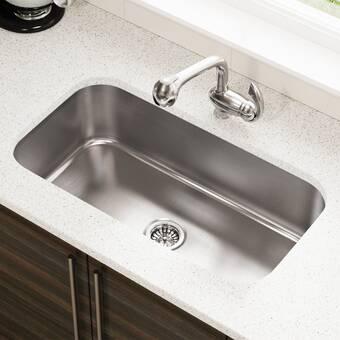 Stainless Steel 32 X 18 Undermount Kitchen Sink