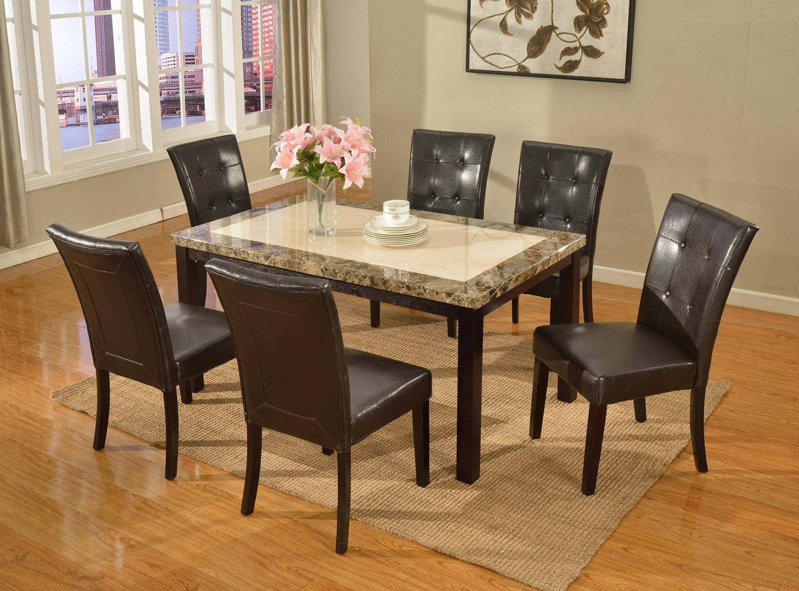 Exceptionnel Bales 7 Piece Dining Set