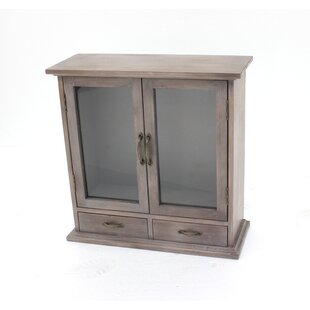 Wood Wall Accent Cabinet