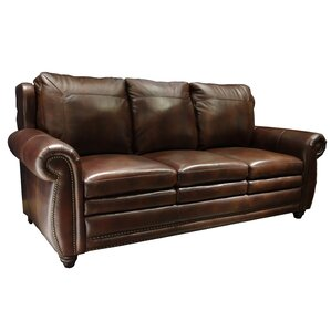 Dillen Leather Configurable Living Room Set by Darby Home Co
