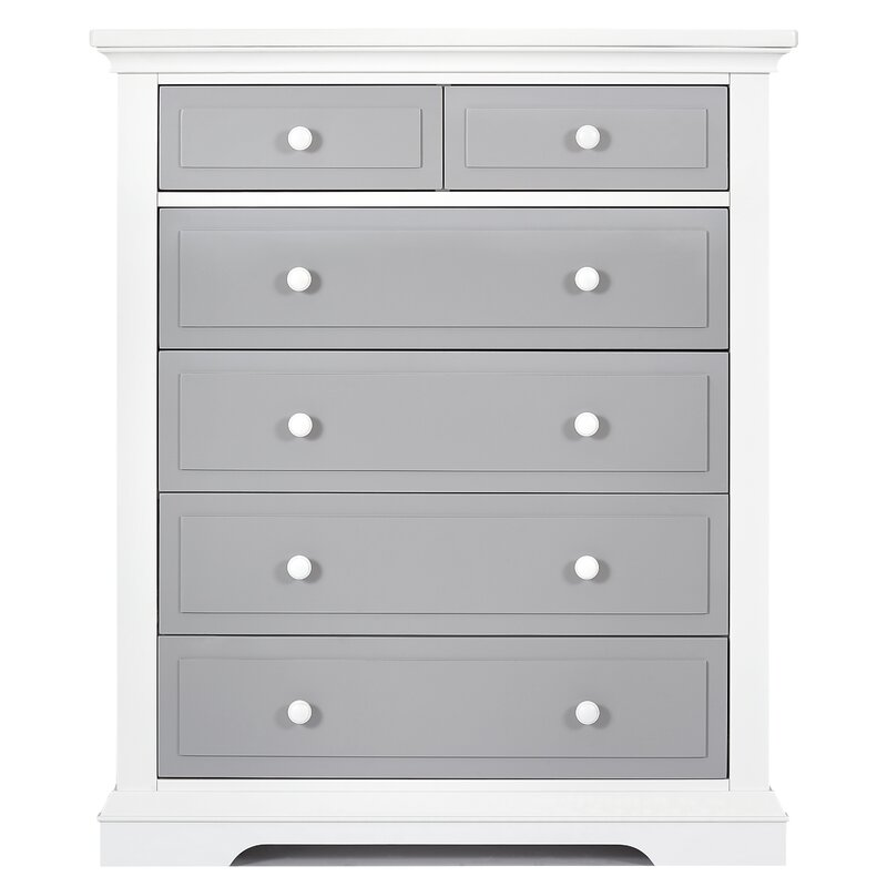 Parker Tall 6 Drawer Chest