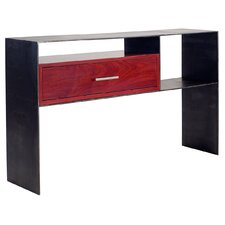 Red Console Table modern red console + sofa tables | allmodern