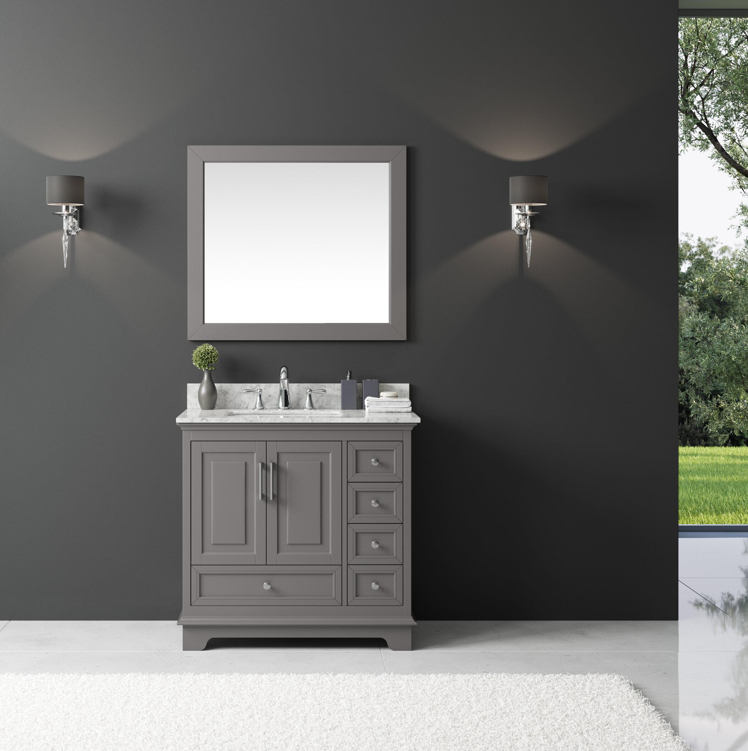 Outstanding Orin 36 Single Bathroom Vanity Set With Mirror Download Free Architecture Designs Scobabritishbridgeorg