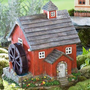 Miniature Fairy Garden Solar Mill