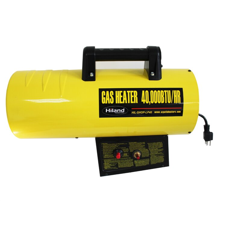 Merveilleux AZ Patio Heaters 40,000 BTU Propane Forced Air Utility Heater U0026 Reviews    Wayfair