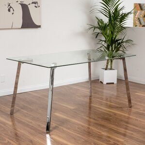 Millington Glass Dining Table by Wade Logan