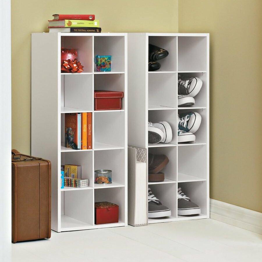 Bon ClosetMaid 10 Pair Shoe Rack U0026 Reviews | Wayfair