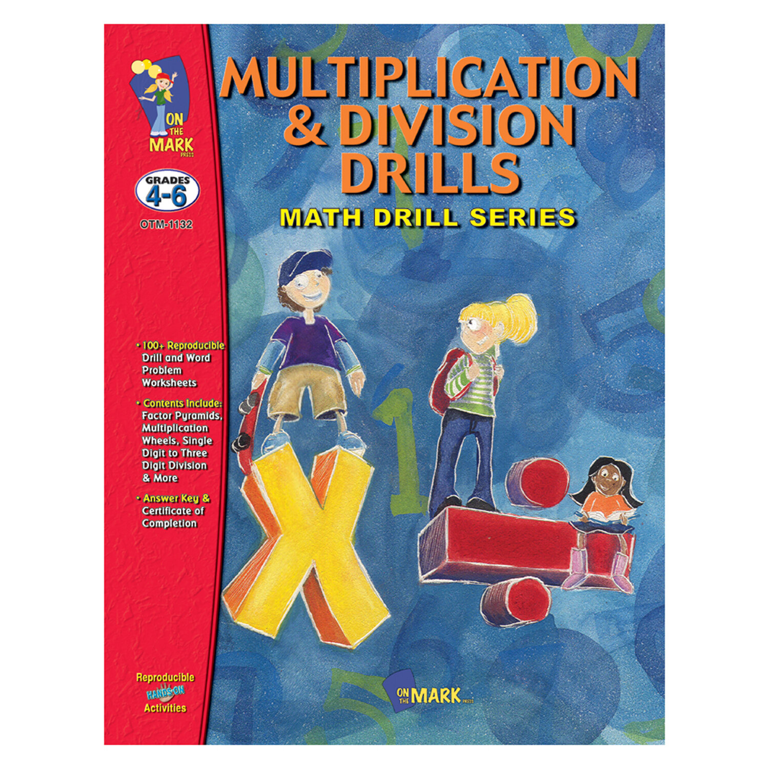 On the Mark Multiplication and Division Drills Book | Wayfair