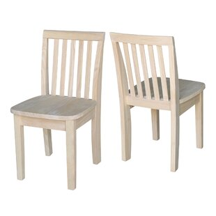 Severus Wood Ready To Finish Kids Desk Chair (Set Of 2)
